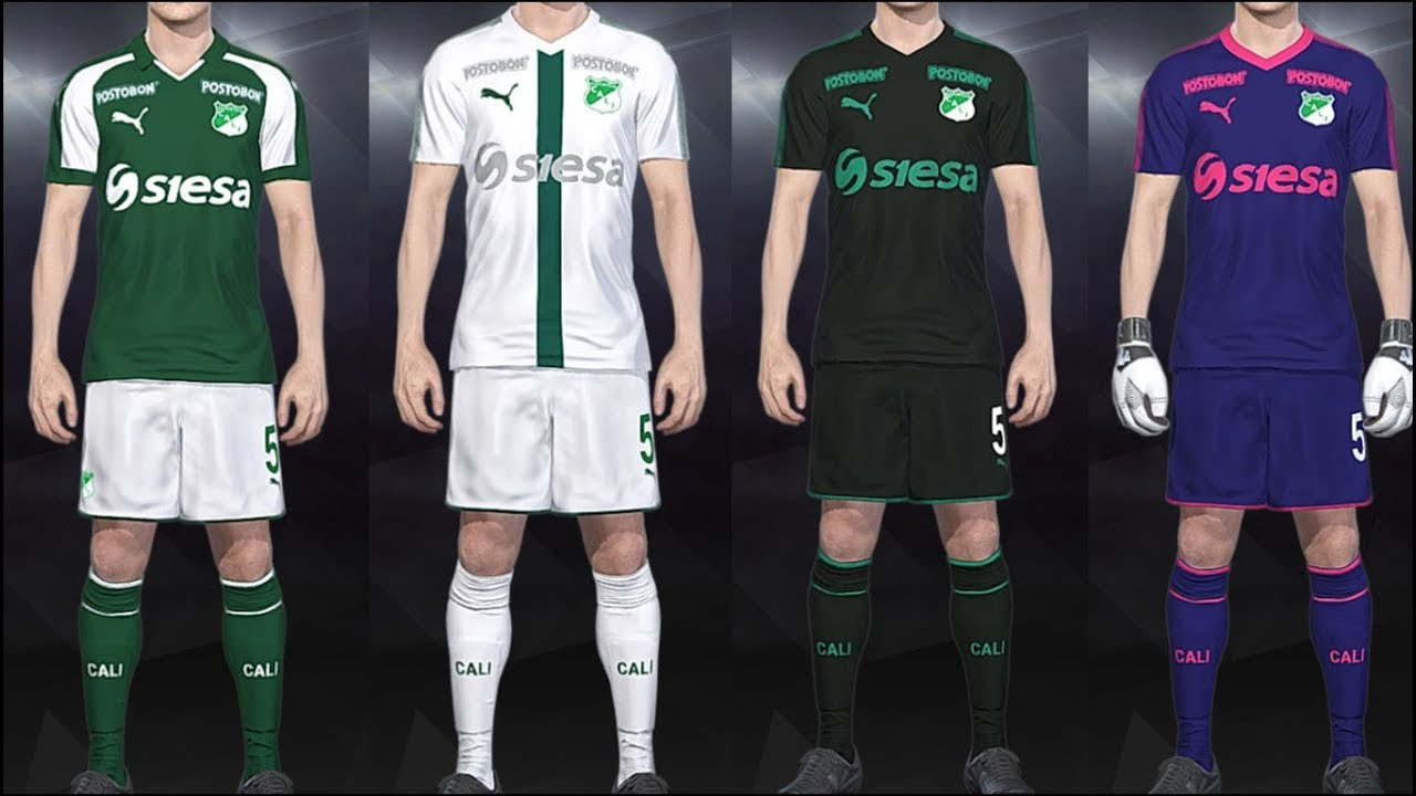PES 2018 - Kits Deportivo Cali Puma 2018 PS4 0bca96088f259
