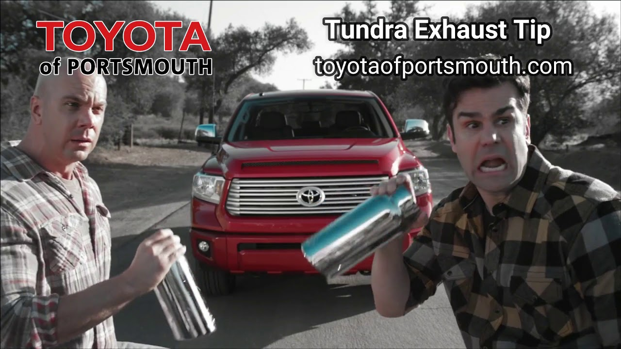 toyota of portsmouth tundra exhaust tip