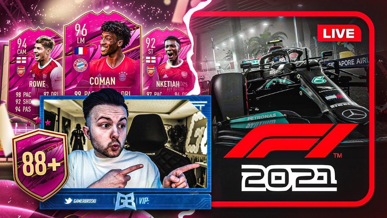 FIFA 21: FUTTIES MENÜ ACTION 🔥 Formel 1 My Team Karriere / Copyright Stream