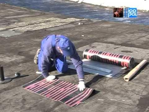 Видео Ремонт плоской кровли