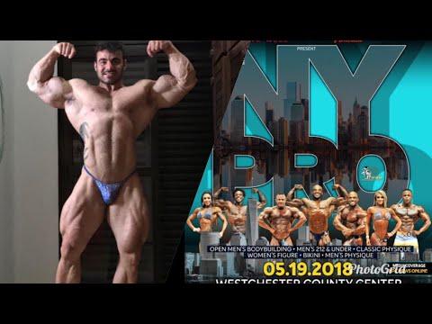 Próxima competição do Rafael Brandão: NY PRO 2018