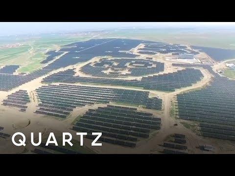 Solar panels that look like pandas