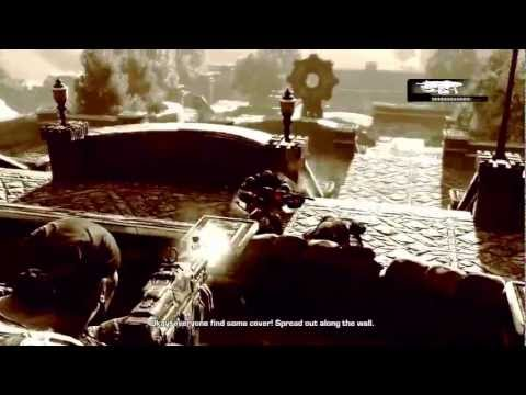 Gears of War 3: Walkthrough - Part 1 [Act 1] - Intro - Let's Play (GoW3 Gameplay & Commentary)