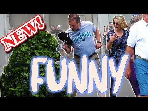 A Real Honest Funny Prank! BUSHMAN ATTACKS! Funny Video - Ryan Lewis