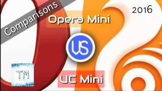 Which browser is best for your android phone | uc mini vs opera mini | comparisons | Tech  Mantra