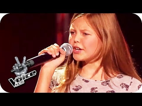 Lena Meyer-Landrut - Wild and Free (Gabriele) | The Voice Kids | Blind Auditions | SAT.1