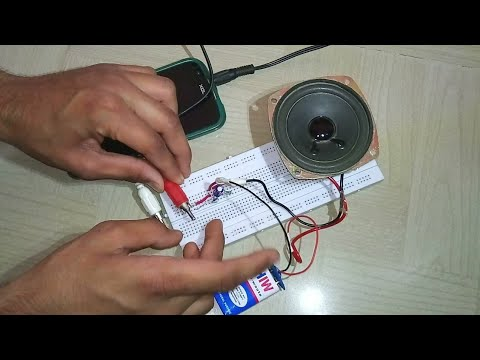 How to make Music amplifier? (Using BC547 transistor)
