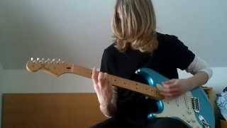 Kurt Cobain grunge guitar Fender Stratocaster