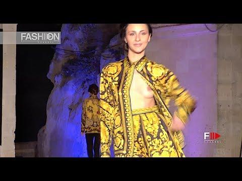 TONY CARAVANO for VERSACE Collection Premio Moda Città dei Sassi 2017 - Fashion Channel