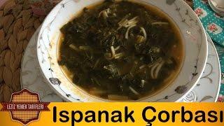 Ispanak Yemeği Tairifi | Ispanak Çorbası en iyi şekilde nasıl yapılır  ve Çocuklara Nasıl Sevdirebiliriz.