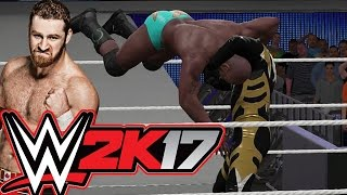 wwe 2k17 too slow fatal 4 way extreme rules playstation 4