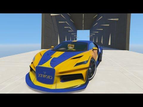 TUNEL DE PINCHOS CON EL THRAX! - CARRERA GTA V ONLINE - GTA 5 ONLINE