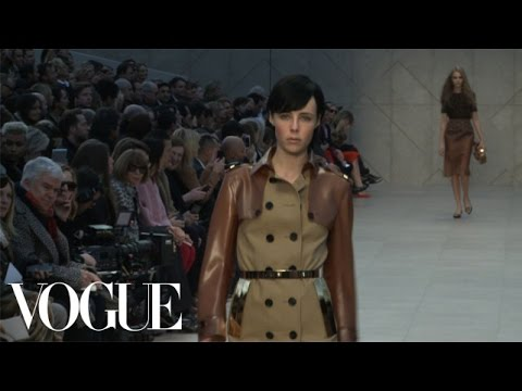 Fashion Show - Fall 2013 Ready-to-Wear: Burberry Prorsum