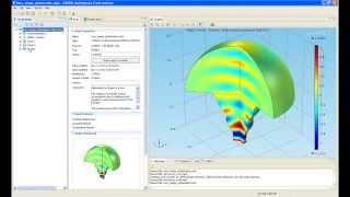 Modelado de RF y acústica con COMSOL Multiphysics (4.3b)