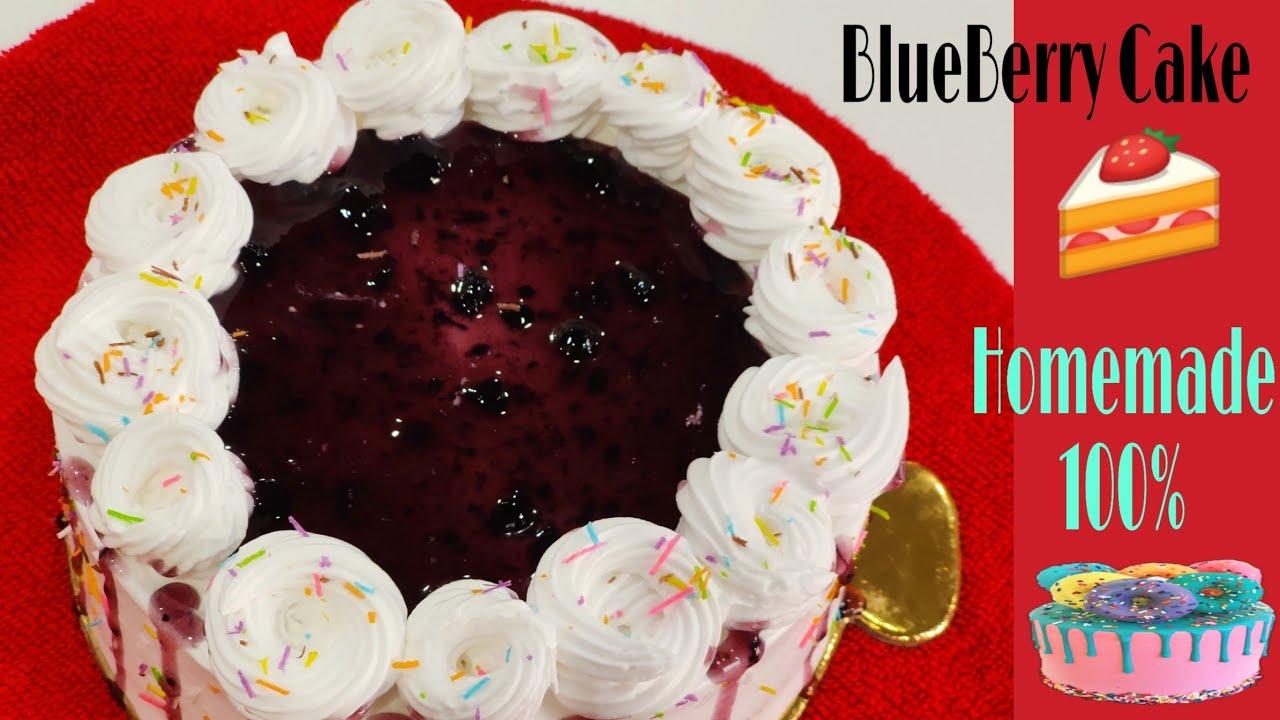 BlueBerry Cake Recipe || How to Make Blueberry Cake -  ब्लूबेरी केक बनाने की विधि