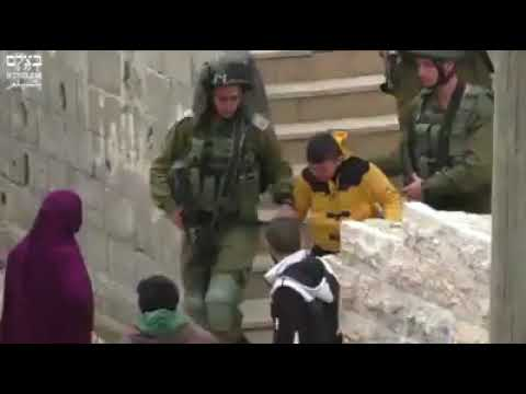 Heartless Devilish Army in the world - Daily Life of Palestine watch and share