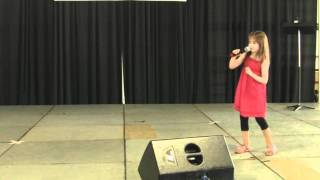 "PART 1 --  Kaitlyn Maher sings at the ""Old Tyme Country Fair"""