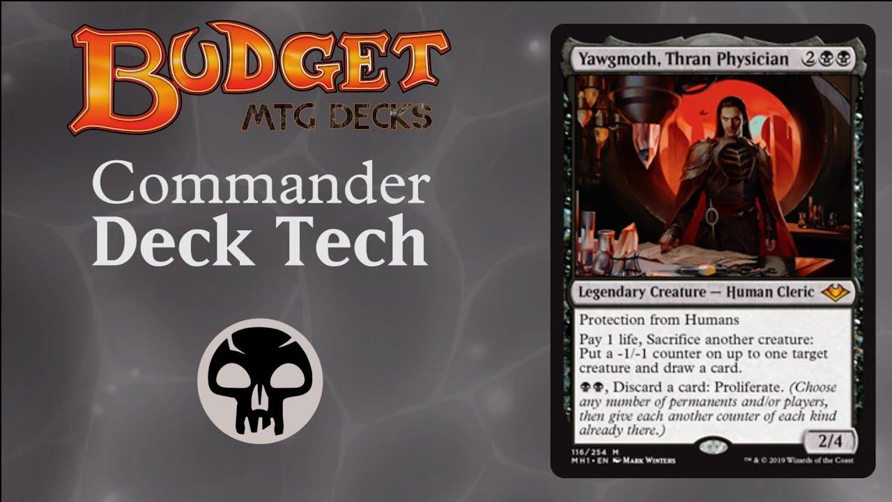 Budget Yawgmoth, Thran Physician - EDH/Commander SACRIFICE