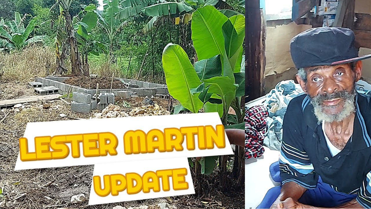 LESTER MARTIN UPDATE  MAN WITH 1 LEG HOUSE STARTED