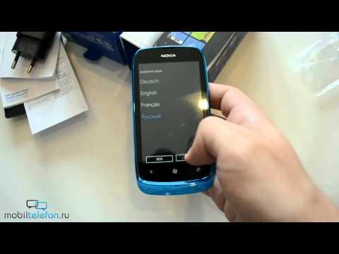 Распаковка Nokia Lumia 610 (unboxing)