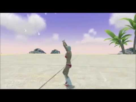 Playstation Home - Sexy Dance Pack Preview (Female)