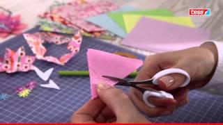 Papierblüten und Gesteck Selbermachen - eine tesa trendidee