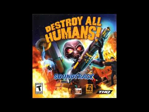 Destroy All Humans! 1 Soundtrack - Santa Modesta Hunted