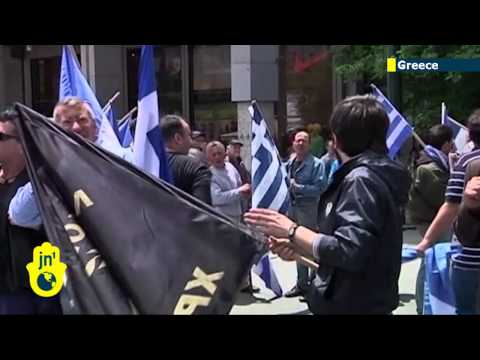 Greek police arrest leader of Golden Dawn party: supporters take to streets as anger mounts