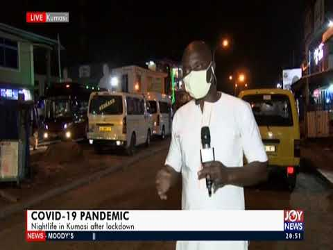 Nightlife on streets of Kumasi after lockdown - Joy News Prime (20-4-20)