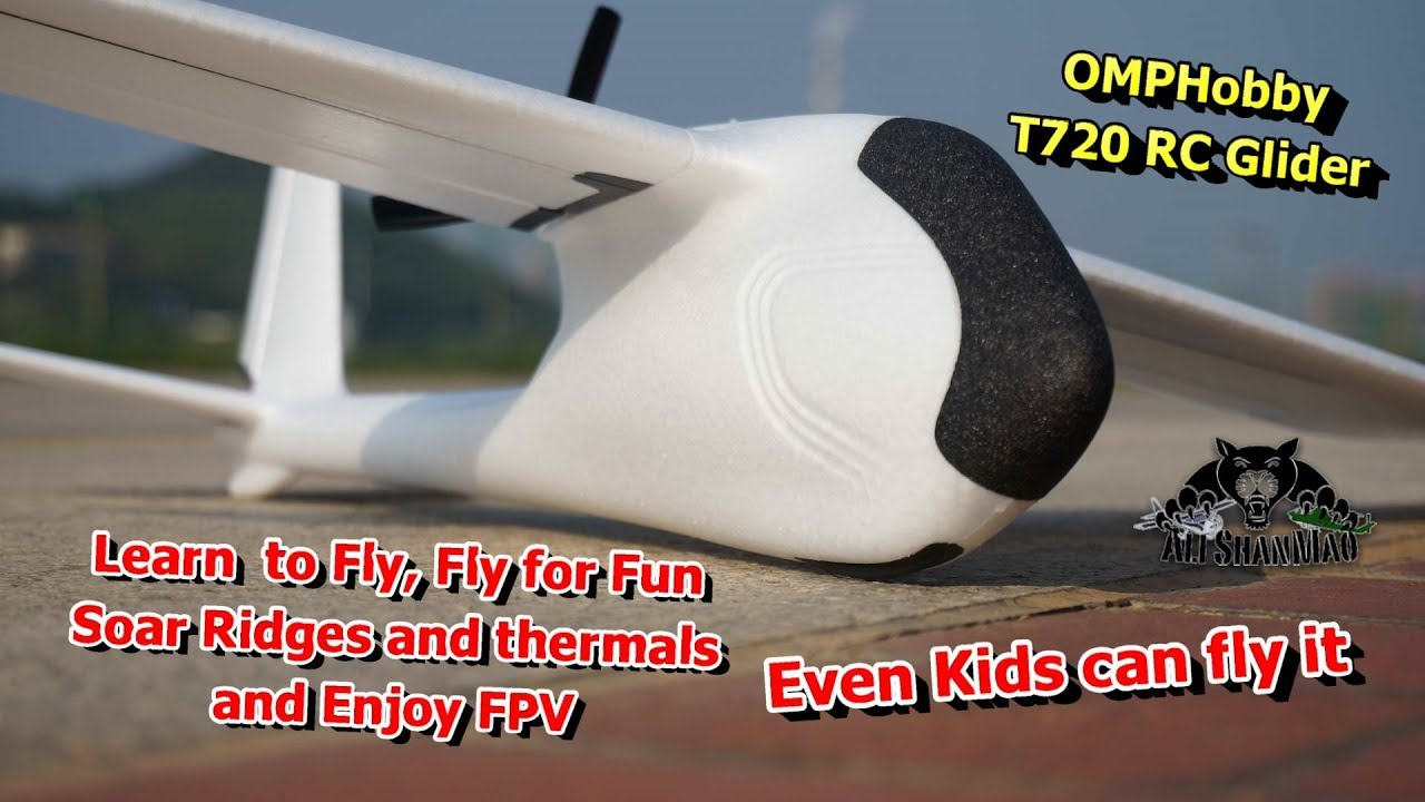 How to Enjoy FPV on Omphobby T720 4Ch RC Trainer Glider