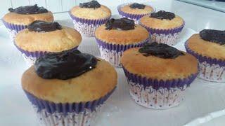 Glutensiz Sütsüz Cupcake Tarifi | Gluten-Free Cupcake Recipe
