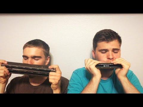 Как Лань Желает- chromatic & chord harmonica key Cm