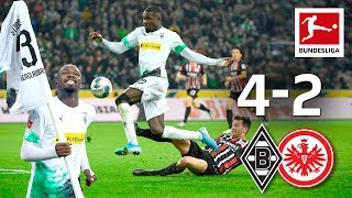 Thuram & Co. Star in 4-2 Thriller - Borussia Mönchengladbach vs. Frankfurt I 4-2 I Highlights