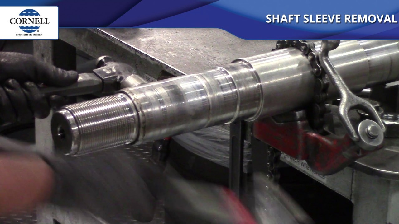 Shaft Sleeve Removal
