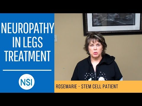 Neuropathy In Legs Treatment (Rosemarie) | NSI Stem Cell Patient