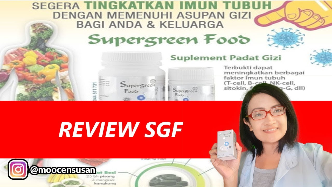 Download REVIEW SUPERGREEN FOOD (SGF)