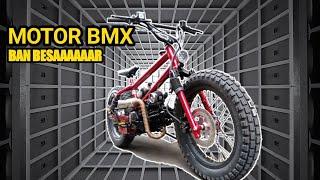 MOTOR BMX 🔴 BAN BESAR DOUBLE STARTER double cakram