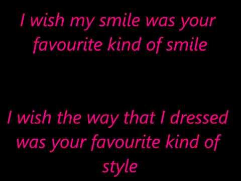 Kate Nash -  Nicest thing  lyrics on screen
