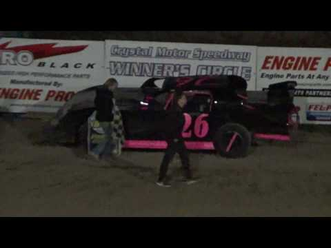 28 Pro Stock Feature Race at  Crystal Motor Speedway, Michigan, 04-22-17