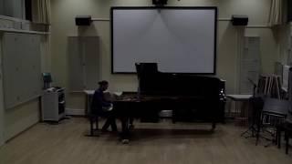Jean-Baptiste Doulcet : B. BARTOK, Etude n°1 op.18