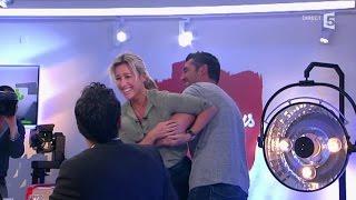 Anne-Sophie rejoue Dirty Dancing avec Arnaud Ducret - C à vous - 11/11/2014