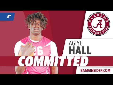 Agiye Hall Commits To The Alabama Crimson Tide
