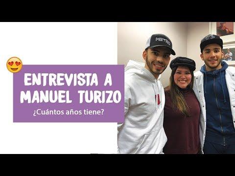 Entrevista a Manuel Turizo ¿Cuántos años tiene? 🤔 | 🙈 Ms. Wendy Pillaca 🙈