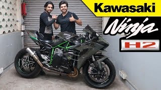 #kawasaki#h2#h2r Living with it Ep. No. 15 | KAWASAKI NINJA H2 !!! | Diwali Dhamaka !!
