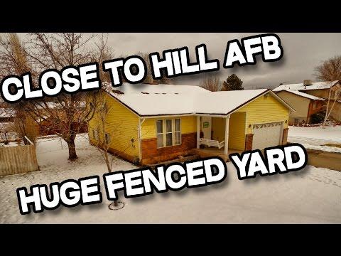 4 Bedroom, 2 bathroom Clinton Utah Home for sale with Hardwood Floors