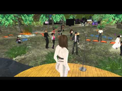 Virtual Round Table Song Karaoke in Second Life