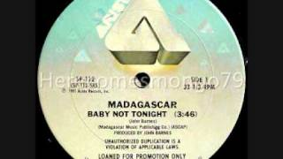 Boogie Down - Madagascar - Baby Not Tonight