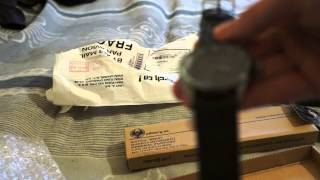 New INFANTRY mens Wrist Watch black Royal Leather Quartz US Army Military sport