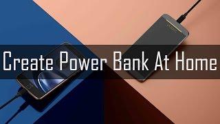 : Evde AA Pil Kullanarak Güç Bankası Oluşturma!