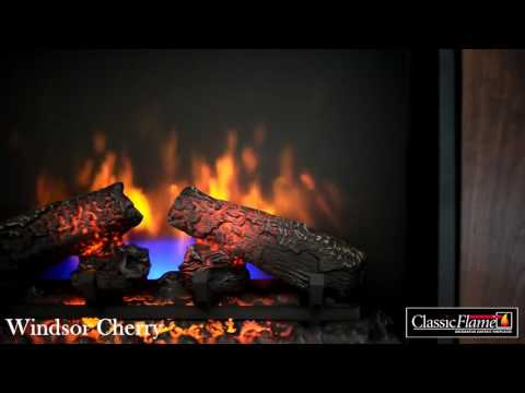 Electric fireplace Classic Flame Windsor Antique Cherry